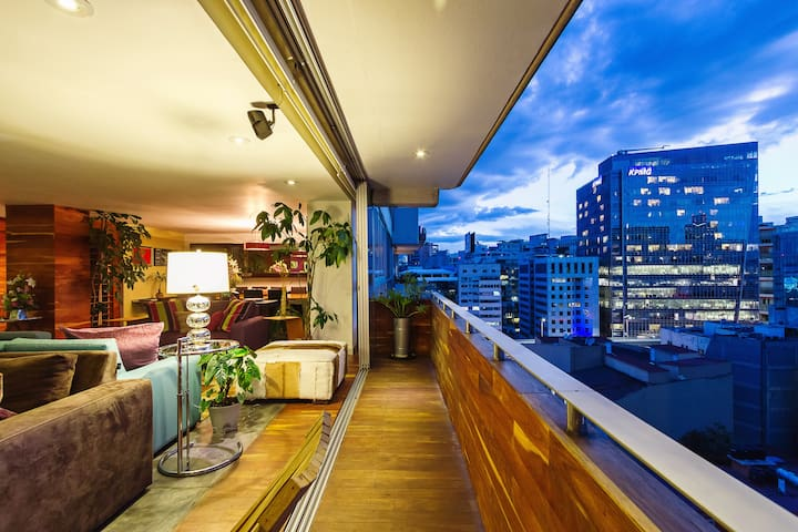 Polanco luxe with incredible views, affordable too