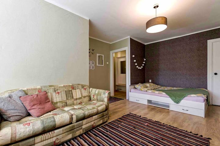 Sunny apartment,  5 min with tram to Old City!