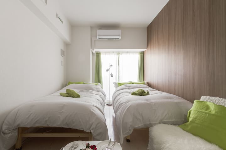 Brand-new apt near Dotombori, Best location ever! - Chuo Ward, Osaka - Apartamento