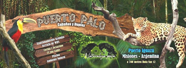 Cabañas puerto palo Iguazú      con piscina!