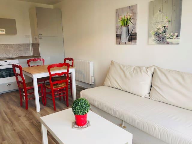 VILLERS/MER : appartement tout équipé avec WIFI