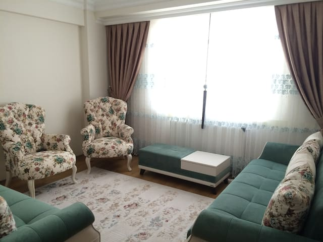 Fully Furnished Dublex House with Partial Sea View - Fatih - Casa