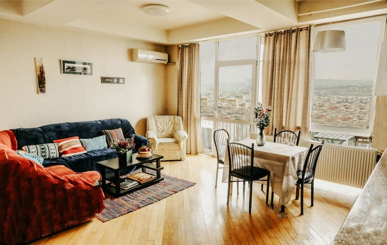 Tbilisi view apartment in the city center