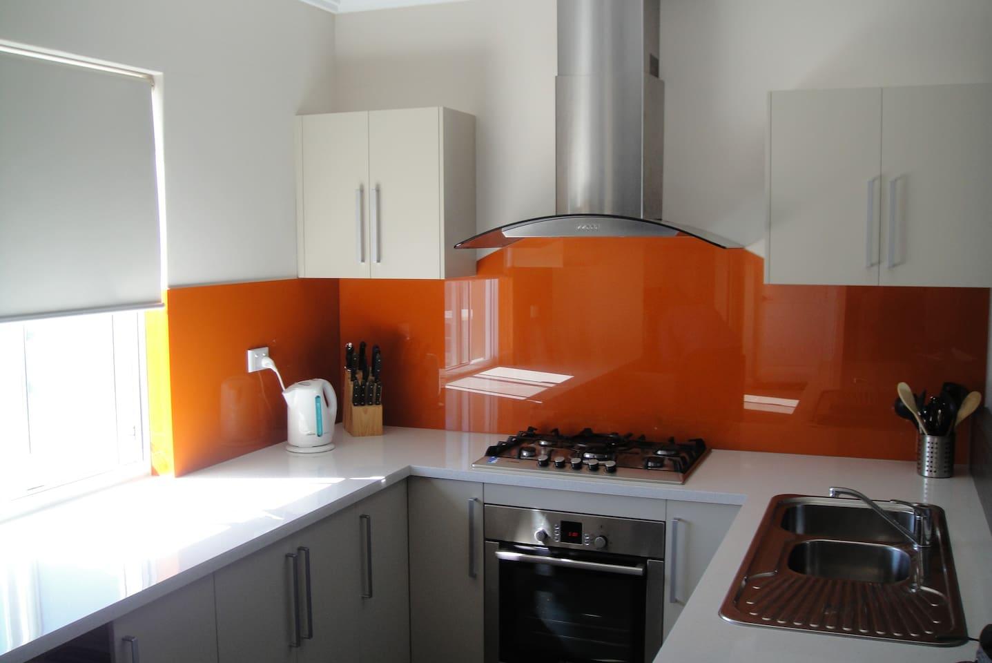 Modern Kitchen with Utensils