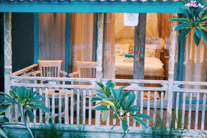 """Golden Hill Cottage Nusa Penida """"garden view"""" 1"""
