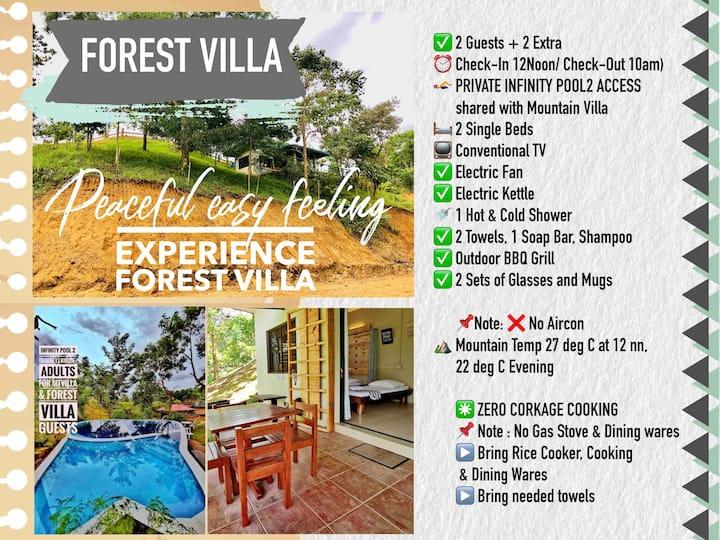 FOREST VILLA, KM55 Don Salvador Benedicto, 2 guest