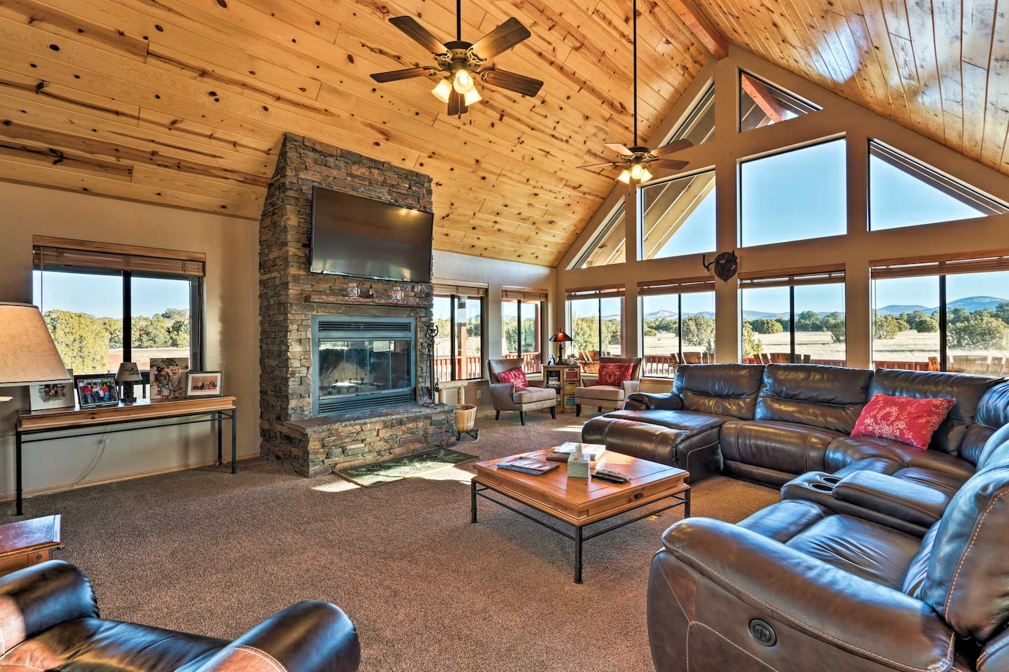 Bring 16 guests along to stay at this Vernon vacation rental house!