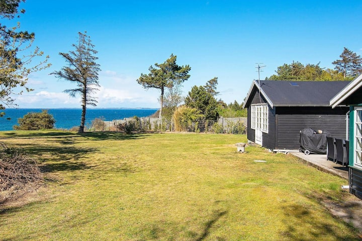 Pleasant Holiday Home in Fårevejle With Panoramic Sea View