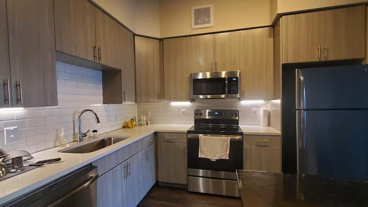 Spacious and minimalist east austin apartment
