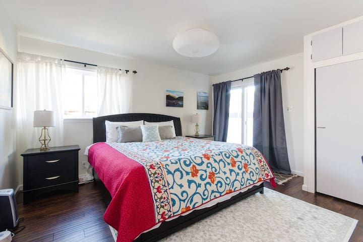 Master Suite One Block From Stanford - Palo Alto - Appartement