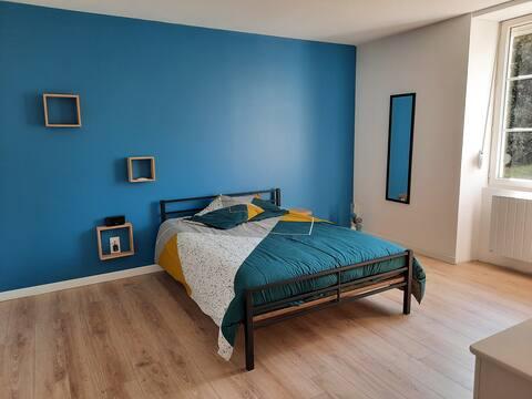 maison restaurée à 20min du centre ville du Mans