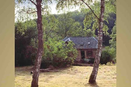 Maison «Moulin à eau» + 42 ha: étang/forêt etc..