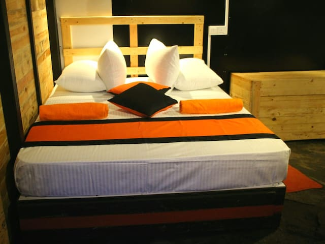 down room bed