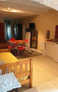 Studio meublé équipé/place parking/terrasse 6 m2 - Apartment