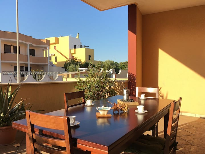 Villetta Grazia con giardino, 1 camera, Gallipoli