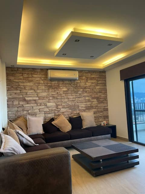 Modern & Spacious Fully Furnished Apartment including a Balcony with a Stunning View
