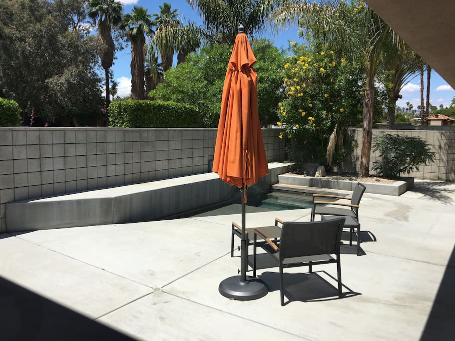 Front Patio with Spa