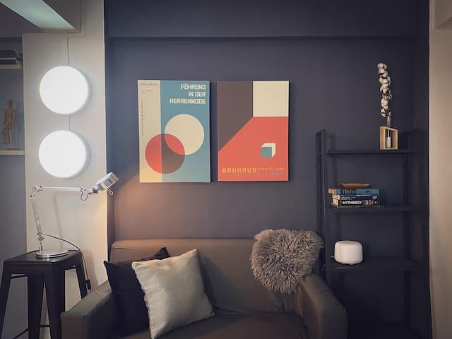 Bau House is our artsy studio unit.