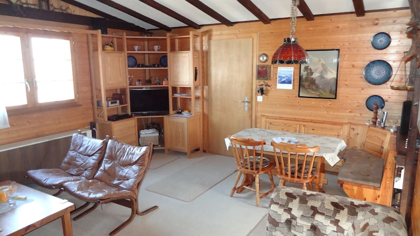 * FANTASTIC Swiss Panorama Chalet * - Leuk - 샬레(Chalet)