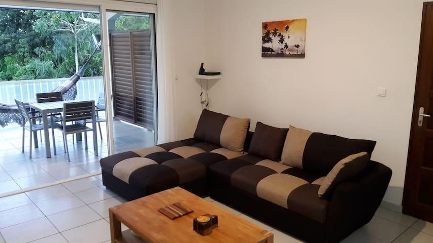 Appartement 2 pièces de standing à 5 mn de Cayenne - Matoury - Lägenhet
