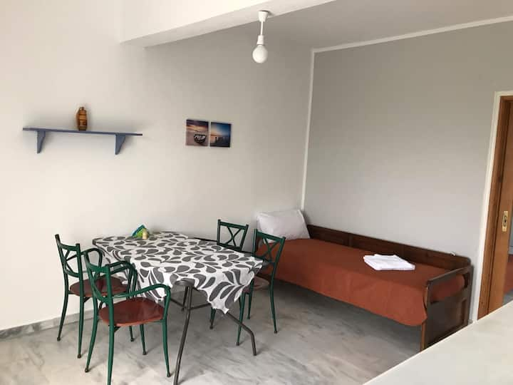 Apartment with great view 200m from the Beach