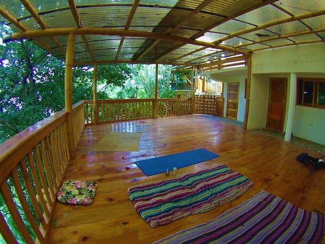 Casa Jaguar,San Marcos La Laguna, double room. - San Marcos La Laguna