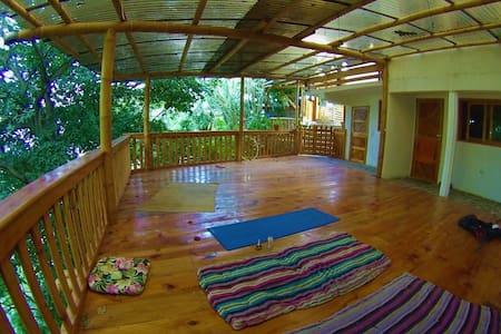 Casa Jaguar,San Marcos La Laguna, double room. - San Marcos La Laguna - Rumah