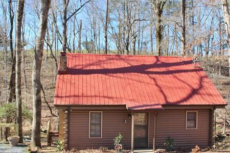 Cozy Creek Cabin - Ellijay - Srub