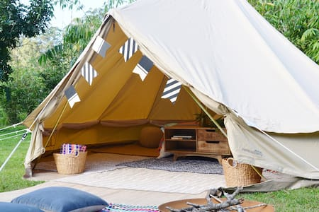 Wandering Abodes- Pop up Glamping INCLUDING SITE - Moffat Beach - ティーピー