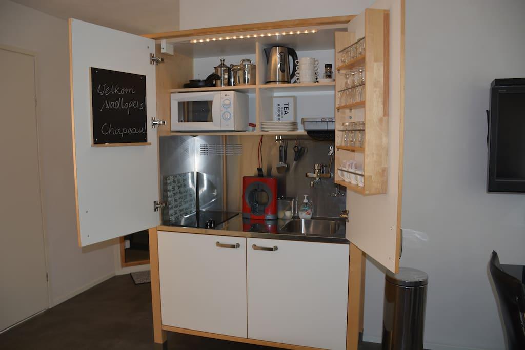 comfortabel guesthouse met sauna appartement g steh user zur miete in drachten friesland. Black Bedroom Furniture Sets. Home Design Ideas