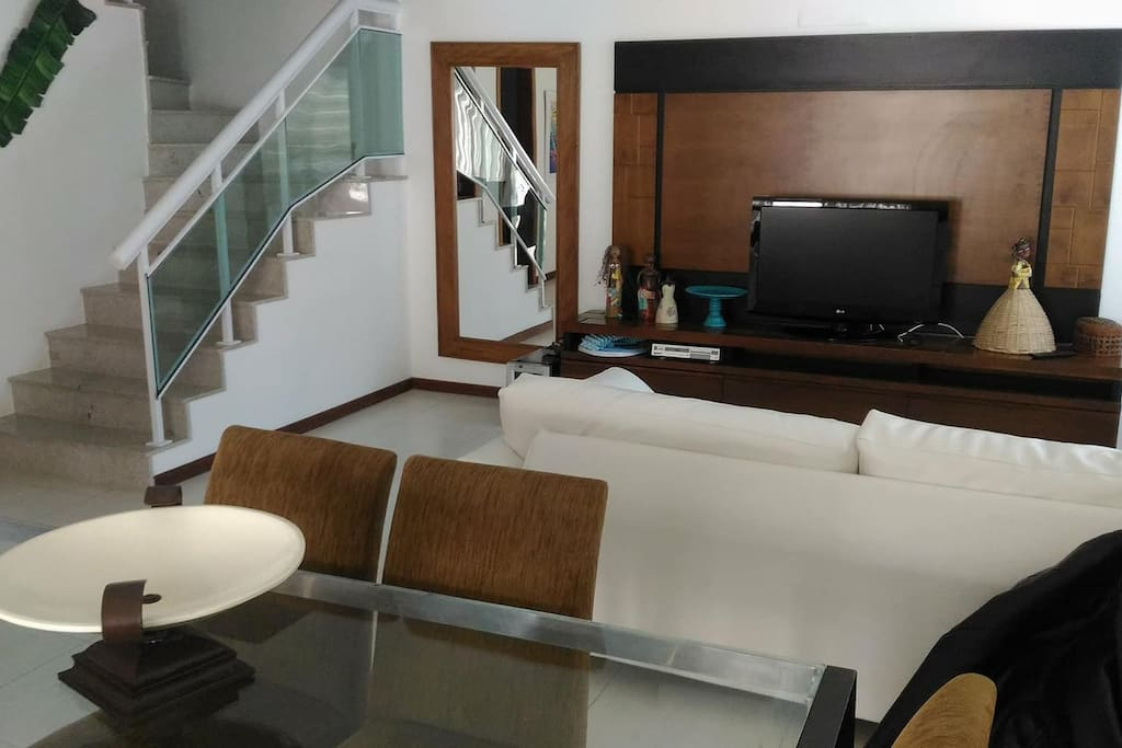 Sala em dois ambientes