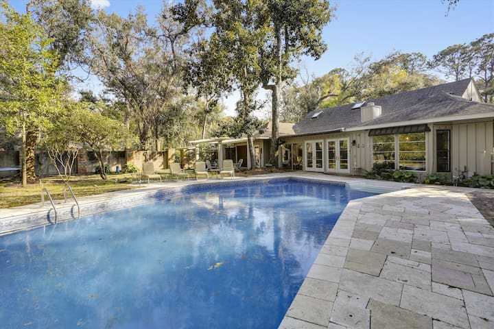 4 bedrooms, 3.5 bathrooms Newly renovated home in Palmetto Dunes!