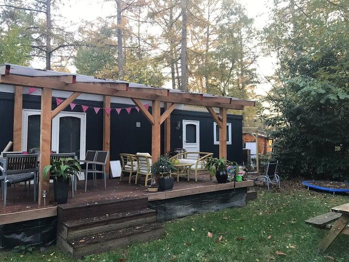 Geweldige camping met alle faciliteiten in het bos