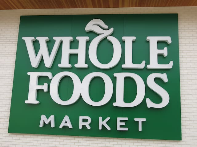 It's here! Our very own Whole Foods has finally opened, practically at our doorstep just a block away.