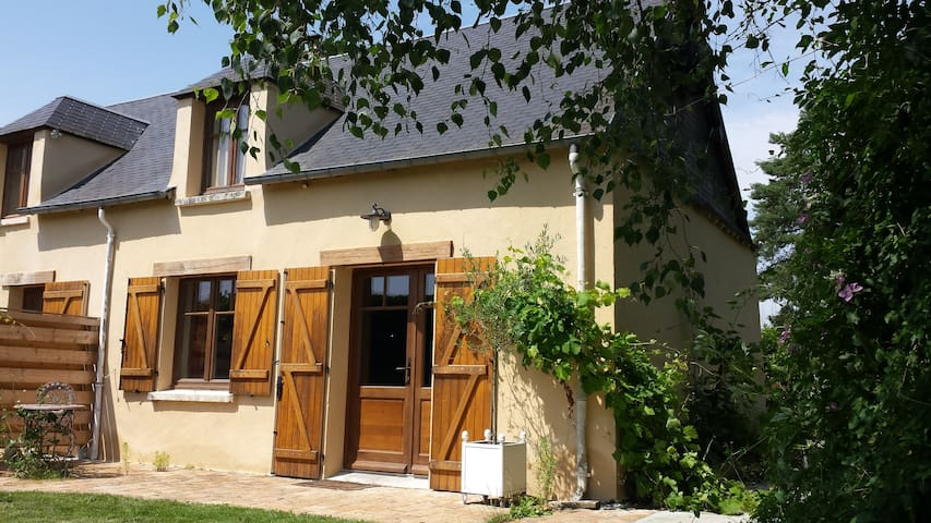 Gite rural romantique en duplex - La Boissière-École