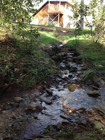 Seasonal Creek, Gold panning, Walking Trail