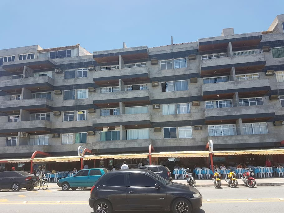 Frontal do condominio