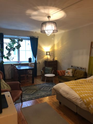 Cozy 2 room flat with 3 beds, (51m*)