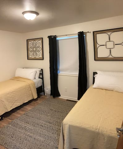 Single beds in bedroom #2