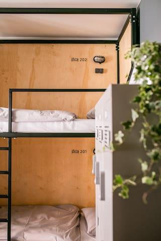 Schöndorf Hostel (6 Bed Dormitory - 201)
