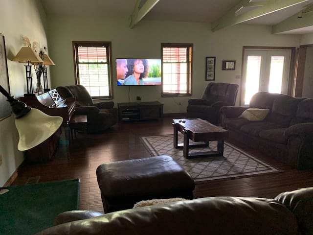 Great room TV area