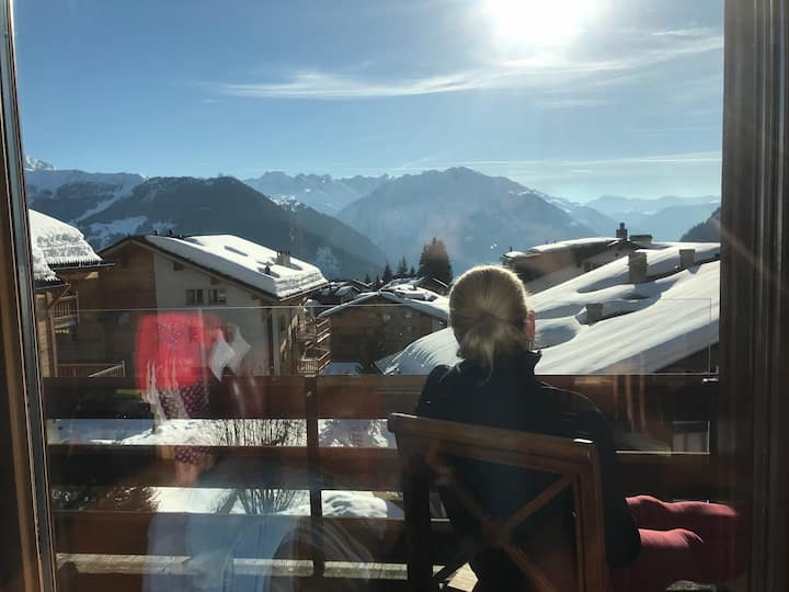 4 Bedroom:  Verbier Spectacular in Center of Town