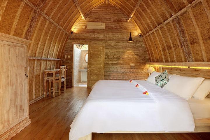 Lumbung Wooden Room