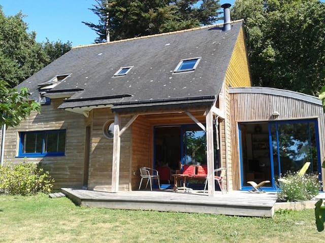 Maison bois proche mer