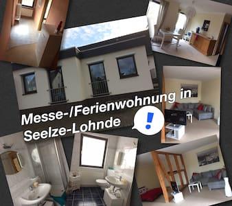 Gemütliche Messe-/ Ferienwohnung in Seelze - Seelze - Huoneisto