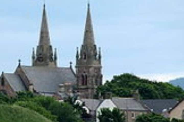 Holiday rental situated in a beautiful Moray town