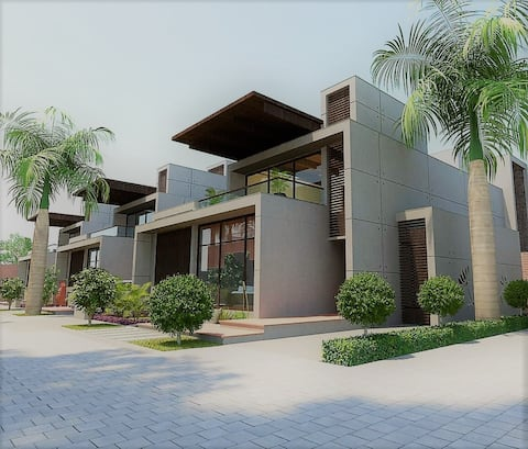 Hi-tech Holiday Villa housing modern facilities..