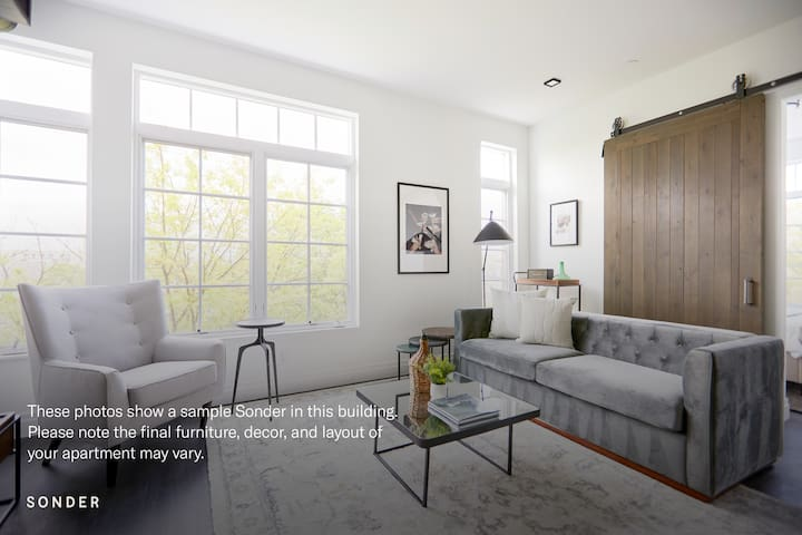 Sonder | The Lamont | Expansive 3BR + Rooftop