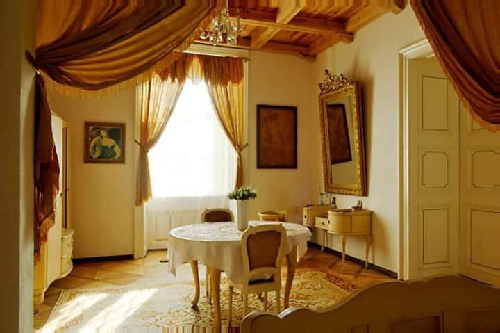 Lovecký apartmán na zámku Úsobí