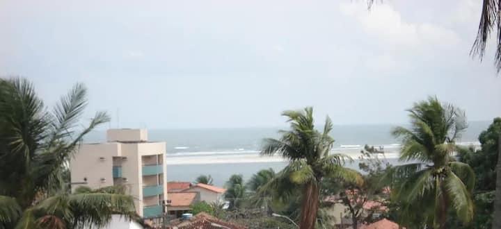 Apartamento em Salinópolis com vista para o mar
